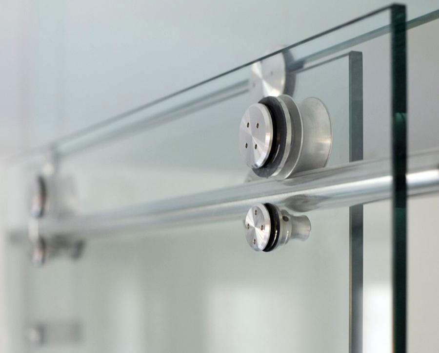 Herrajes arquitect nicos m vidrio for Herrajes para puertas corredizas